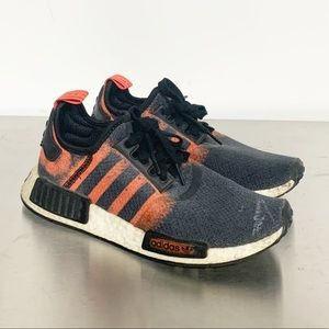 adidas | NMD R1 Stencil Pack Solar Red Sneaker 6.5